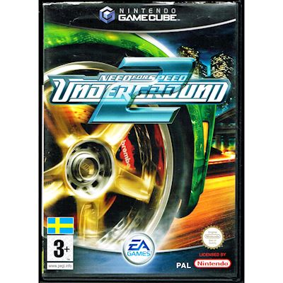 NEED FOR SPEED UNDERGROUND 2 GAMECUBE