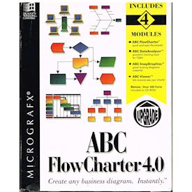 ABC FLOWCHARTER 4.0 PC BIGBOX