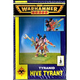 TYRANID HIVE TYRANT WARHAMMER 40000 GAMES WORKSHOP 1995