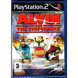 ALVIN AND THE CHIPMUNKS PS2 NYTT