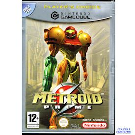 METROID PRIME GAMECUBE