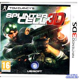 TOM CLANCYS SPLINTER CELL 3D 3DS