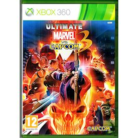 ULTIMATE MARVEL VS CAPCOM 3 XBOX 360