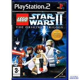 LEGO STAR WARS II THE ORIGINAL TRILOGY PS2