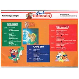 CLUB NINTENDO NR 4 SEPTEMBER 1992