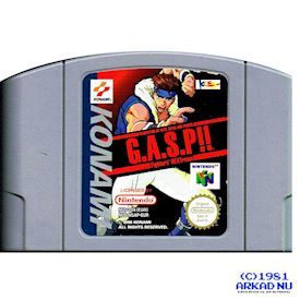 GASP FIGHTERS NEXTREAM N64
