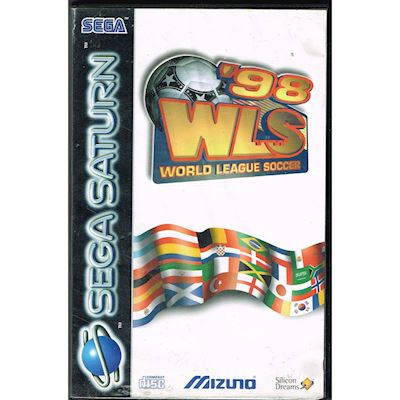 WORLD LEAGUE SOCCER '98 WLS SATURN