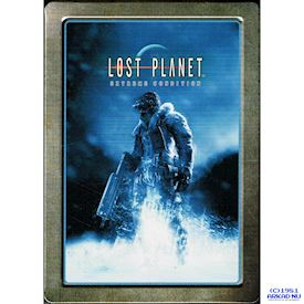 LOST PLANET EXTREME CONDITIONS STEEL BOOK XBOX 360