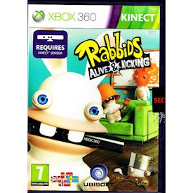 RABBIDS ALIVE & KICKING XBOX 360