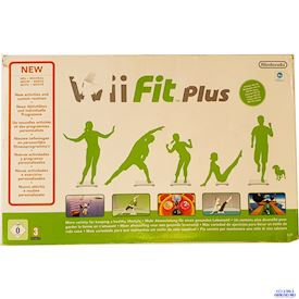 WII FIT PLUS MED BALANCE BOARD WII