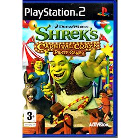 SHREKS CARNIVAL CRAZE PARTY GAMES PS2