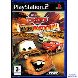 CARS MATERNATIONAL CHAMPIONSHIP PS2