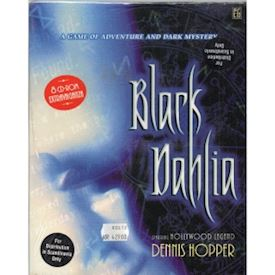 BLACK DAHLIA PC CDROM