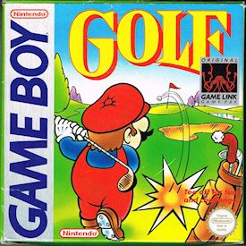 GOLF GAMEBOY SCN
