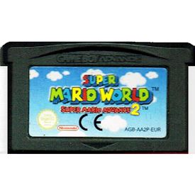 SUPER MARIO WORLD SUPER MARIO ADVANCE 2 GBA