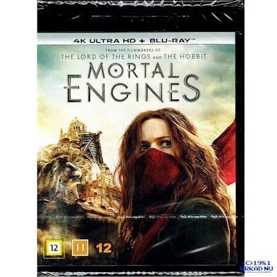MORTAL ENGINES 4K ULTRA HD + BLU-RAY