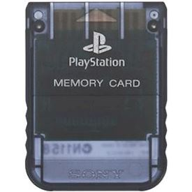 MINNESKORT PLAYSTATION 1MB CLEAR