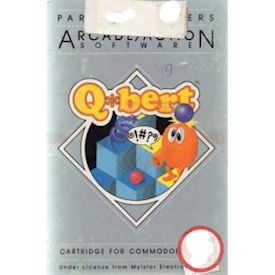 QBERT Vic 20 Cartridge