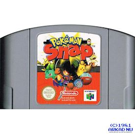 POKEMON SNAP N64 TYSK