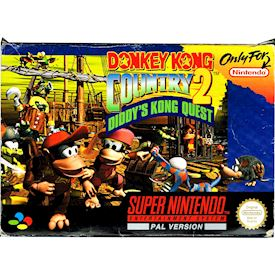 DONKEY KONG COUNTRY 2 DIDDYS KONG QUEST SNES SCN