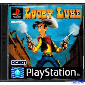 LUCKY LUKE PS1