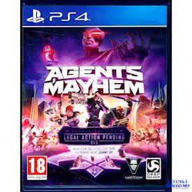 AGENTS MAYHEM DAY RETAIL EDITION PS4