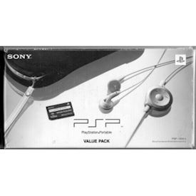 SONY PSP PLAYSTATION PORTABLE VALUE PACK