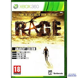 RAGE ANARCHY EDITION XBOX 360