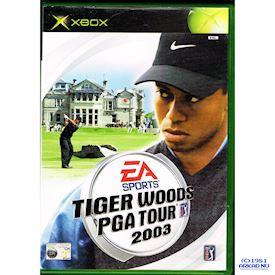 TIGER WOODS PGA TOUR 2003 XBOX