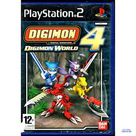DIGIMON WORLD 4 PS2
