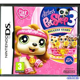 LITTLEST PETSHOP 3 BIGGEST STARS PINK TEAM DS