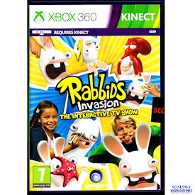 RABBIDS INVASION THE INTERACTIVE TV SHOW XBOX 360