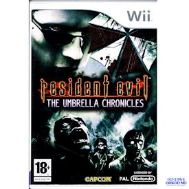 RESIDENT EVIL THE UMBRELLA CHRONICLES WII
