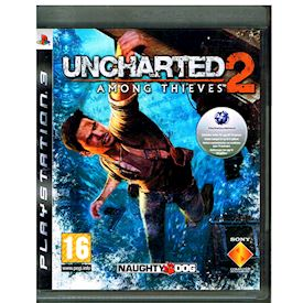 UNCHARTED 2 AMONG THIEVES PS3