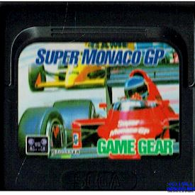SUPER MONACO GP GAME GEAR