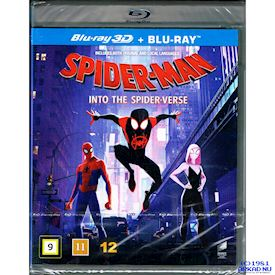 SPIDER-MAN INTO THE SPIDER-VERSE 3D BLU-RAY