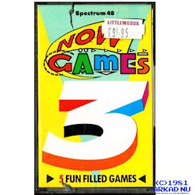 NOW GAMES 3 ZX SPECTRUM
