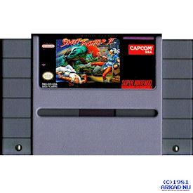 STREET FIGHTER II SNES NTSC USA