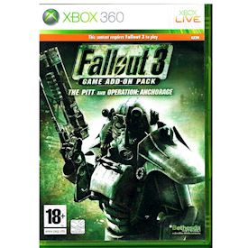 FALLOUT 3 THE PIT AND OPERATION ANCHORAGE ADD-ON XBOX 360