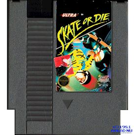 SKATE OR DIE NES REV-A