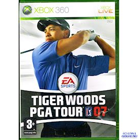 TIGER WOODS PGA TOUR 07 XBOX 360