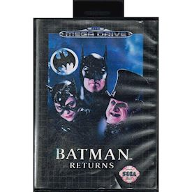 BATMAN RETURNS MEGA DRIVE