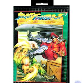STREET FIGHTER II SPECIAL CHAMPION EDITION MEGADRIVE BOOTLEG