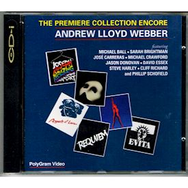THE PREMIERE COLLECTION ENCORE ANDREW LLOYD WEBBER CDI