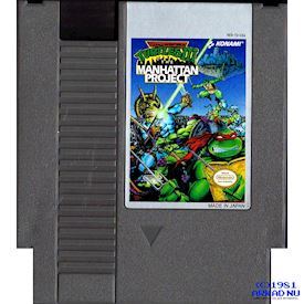 TEENAGE MUTANT NINJA TURTLES III MANHATTAN PROJECT NES REV-A