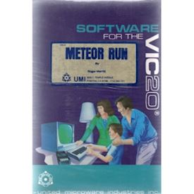 METEOR RUN VIC 20 CARTRIDGE NYTT