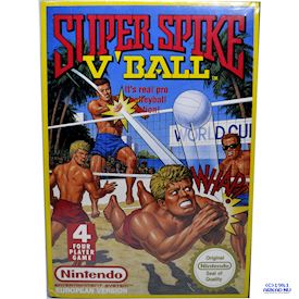 SUPER SPIKE VOLLEYBALL NES NYTT INPLASTAT