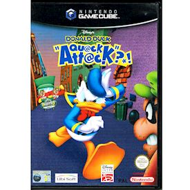DONALD DUCK QUACK ATTACK GAMECUBE