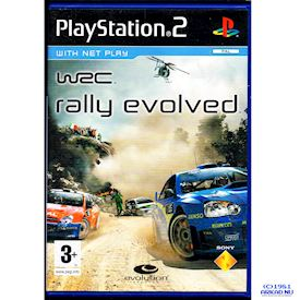 WRC RALLY EVOLVED PS2 PROMO VERSION
