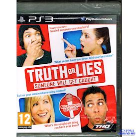 TRUTH OR LIES PS3